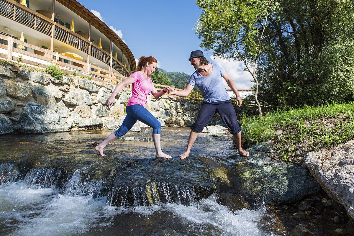 Natur und Wasser genießen